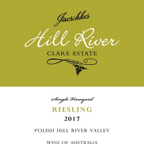 2017 Jaeschkes Hill River Clare Estate Riesling 750ml
