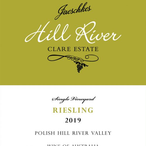 2019 Jaeschkes Hill River Clare Estate Riesling