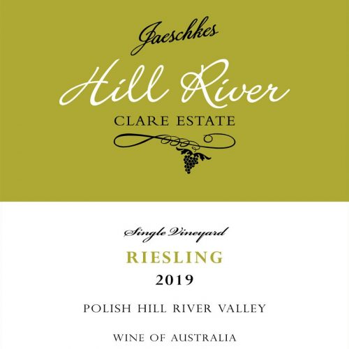 2019 Jaeschkes Hill River Clare Estate Riesling 750ml