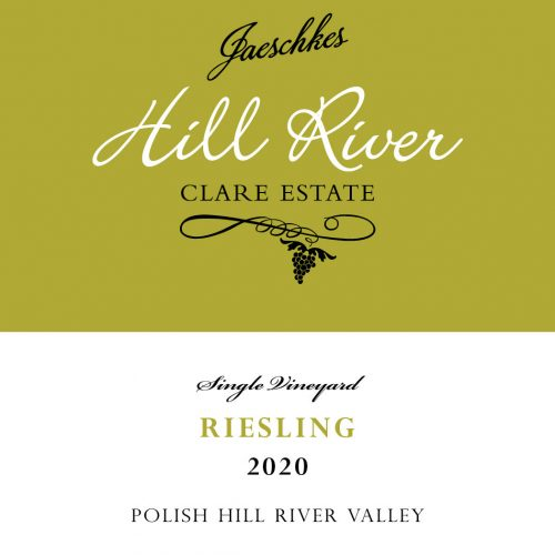 2020 Jaeschkes Hill River Clare Estate Riesling