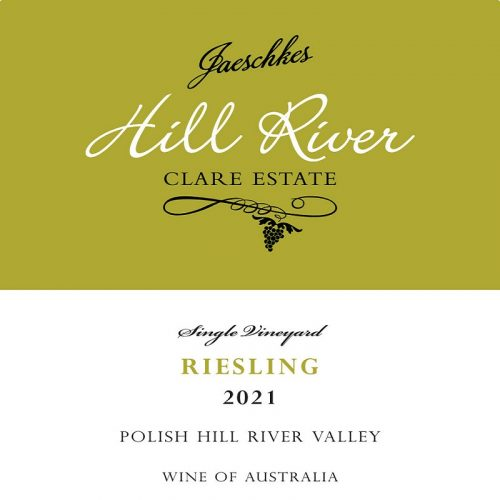 2021 Jaeschkes Hill River Clare Estate Riesling 750ml