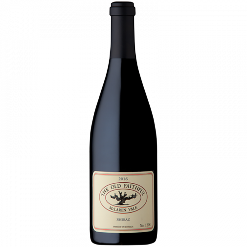 2016 Nick Haselgrove Wines The Old Faithful Shiraz Black Tip Limited 750ml